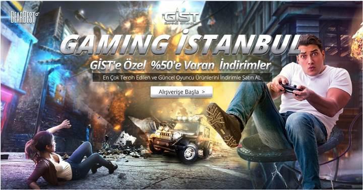 Gearbest'ten Donanımhaber ve Gaming İstanbul'a özel indirim fırsatları