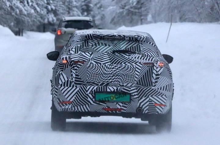 Audi Q2'nin yeni rakibi DS 3 Crossback kış testinde görüntülendi