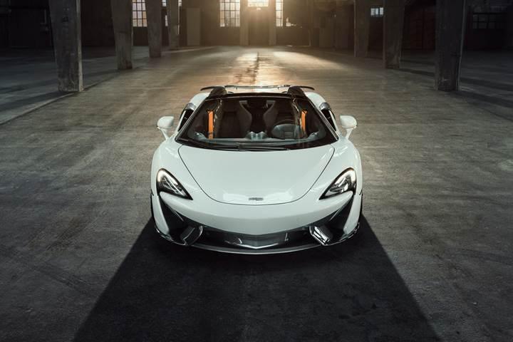 McLaren 570S Spider'a Novitec dokunuşu