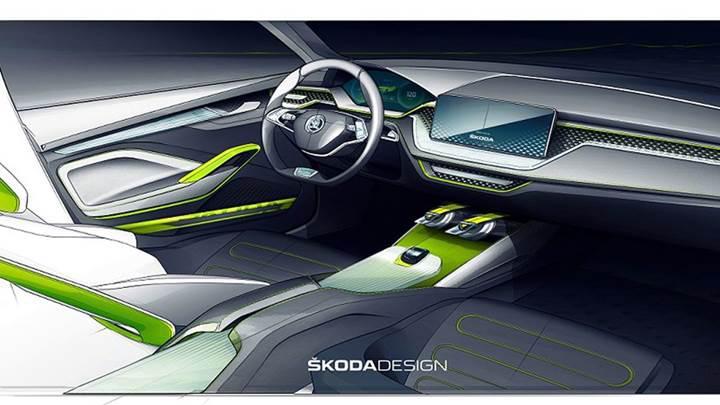 Skoda Vision X konseptinin taslak görüntüleri paylaşıldı