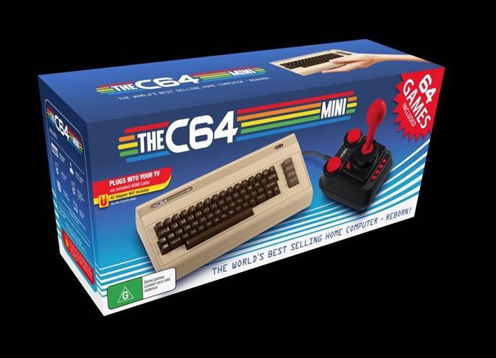 Commodore 64 Mini geliyor