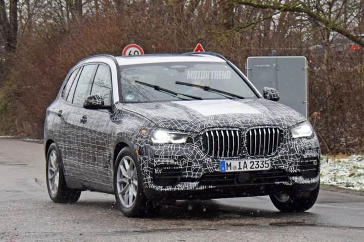 2018 BMW X5 daha detaylı göründü