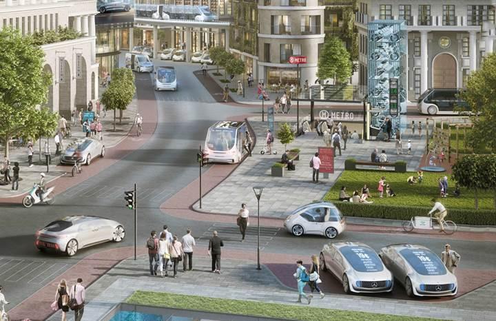 Mercedes ve Bosch, sürücüsüz taksilerini test etmeye hazırlanıyor