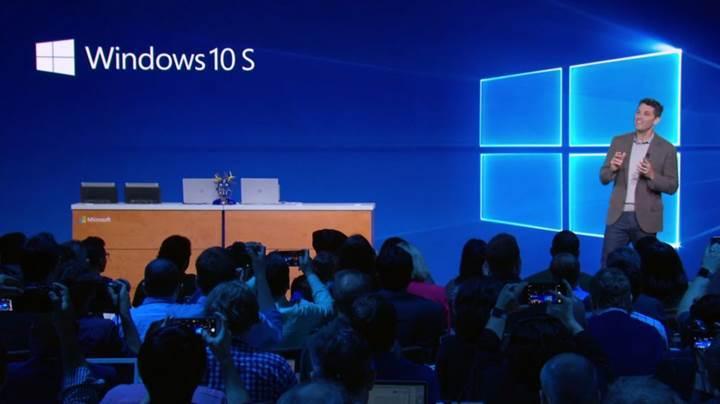 Microsoft, Windows 10 S'i bağımsız bir sürüm yerine