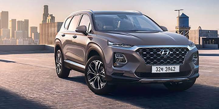 2018 Hyundai Santa Fe'nin fotoğrafları paylaşıldı