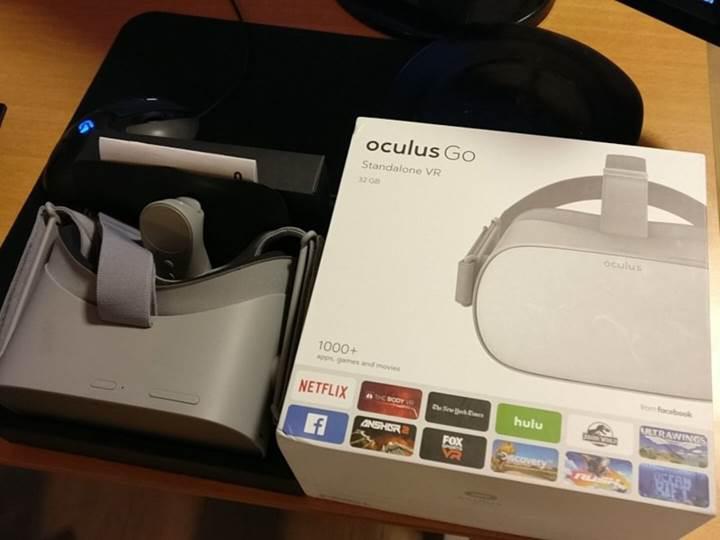 Oculus Go bağımsız sanal gerçeklik başlığı kutusuyla sızdırıldı