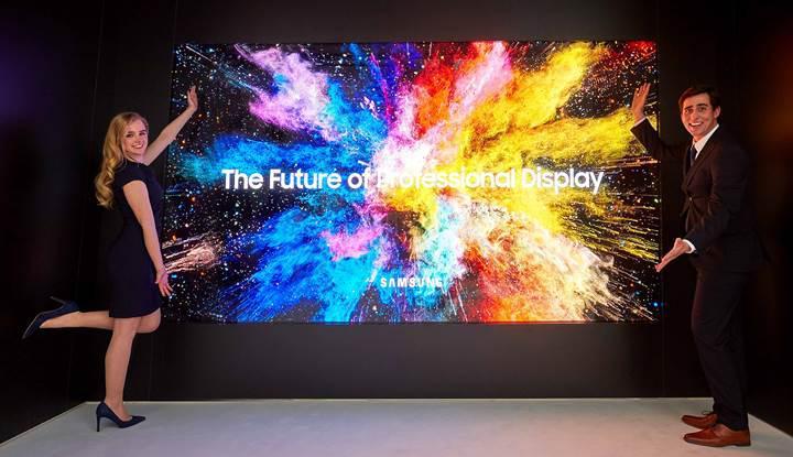 Samsung The Wall ekranı artık profesyonel