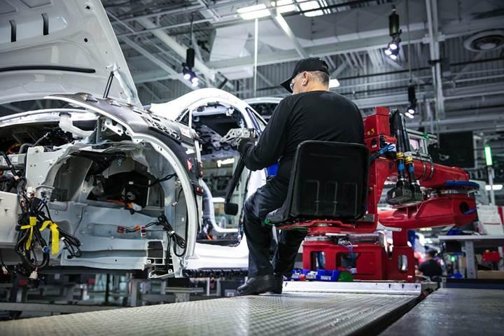 Tesla'nın hedefi Fremont fabrikasını