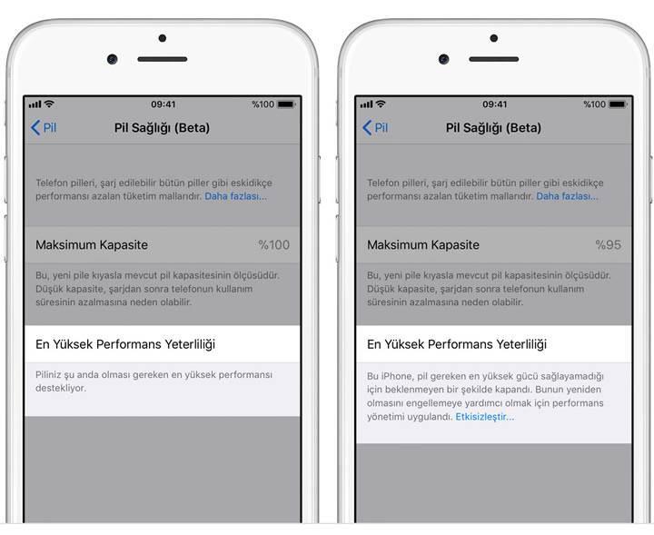 Apple'ın kasten yavaşlattığı iPhone'lar için