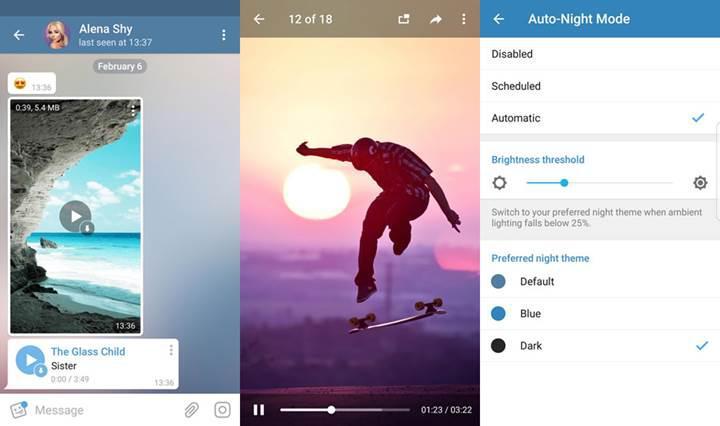 Telegram artık videoları indirmeden önce izlemeye başlamanıza izin veriyor