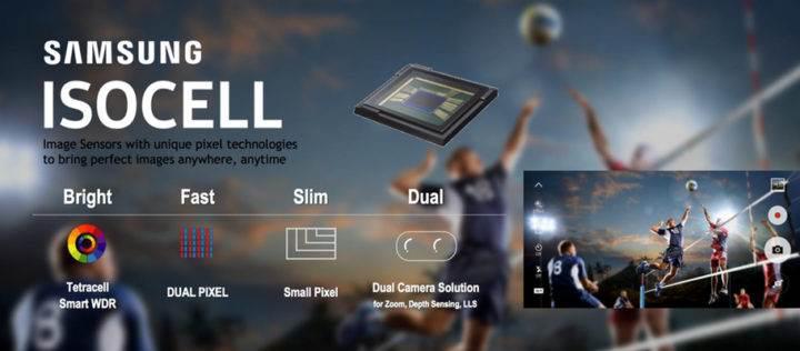 Samsung'dan orta seviye telefonlara çift kamera çözümü