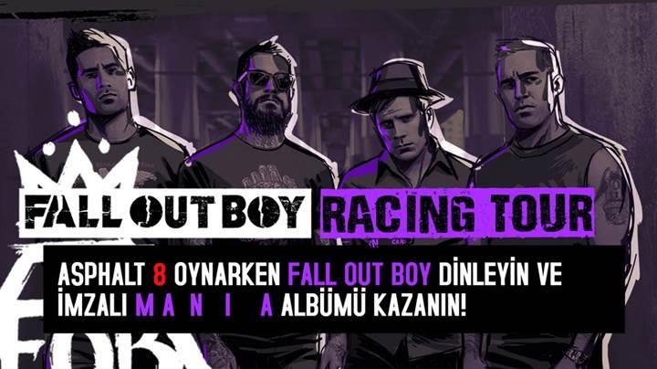Fall Out Boy yeni albümünü Asphalt 8: Airborne ile tanıtıyor