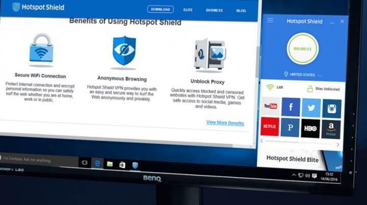 500 milyon kullanıcısı olan Hotspot Shield VPN'de inanılmaz açık