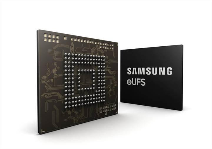 Samsung'tan araç bilgi sistemleri için 25GB gömülü UFS bellek