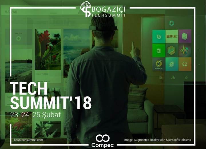 Boğaziçi TechSummit'18, 23 Şubat'ta başlıyor