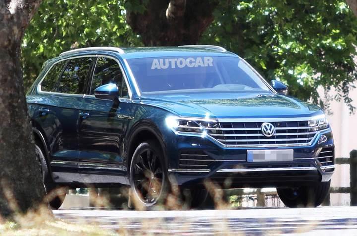2018 Volkswagen Touareg 23 Mart'ta Pekin'de tanıtılacak
