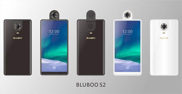 Bluboo S2 akıllı telefonu dönebilir kamerasıyla MWC 2018 fuarına geliyor
