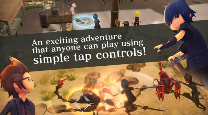 Final Fantasy XV: Pocket Edition mobil platformlar için yayınlandı