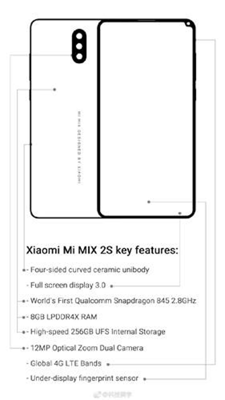 Xiaomi Mi MIX 2s tüm özellikleriyle gözler önüne serildi