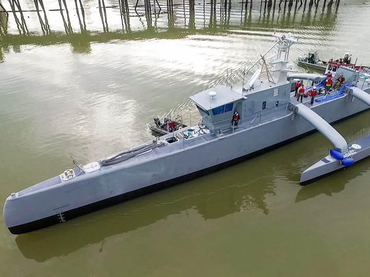 ABD donanmasının yeni otonom gemisi Sea Hunter
