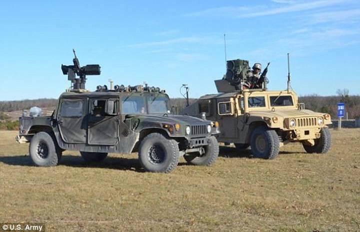 ABD ordusu otonom araçlarını test ediyor