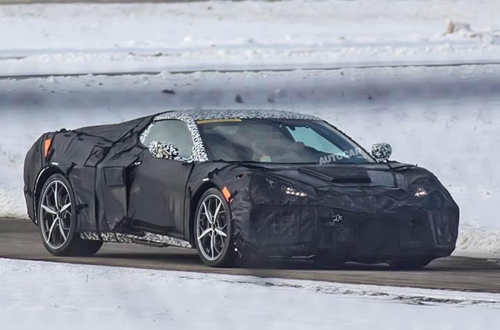 2019 Chevrolet Corvette: ortadan motorlu efsane yeniden görüntülendi