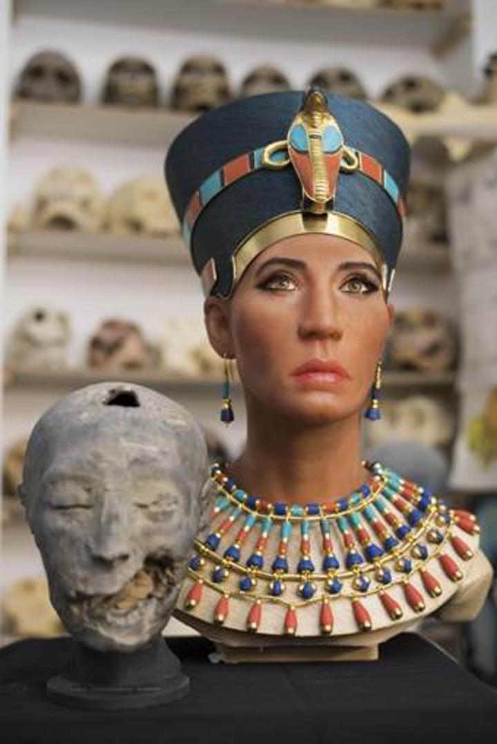 Kraliçe Nefertiti'nin yüzü 3D görüntüleme teknolojisiyle yeniden oluşturuldu