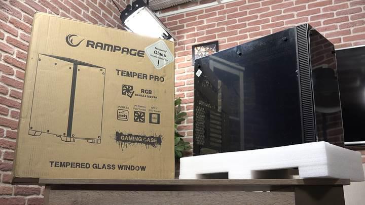 Rampage Temper Pro kasa incelemesi