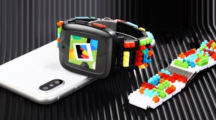 Omate x Nanoblock hem oyuncak hem akıllı saat
