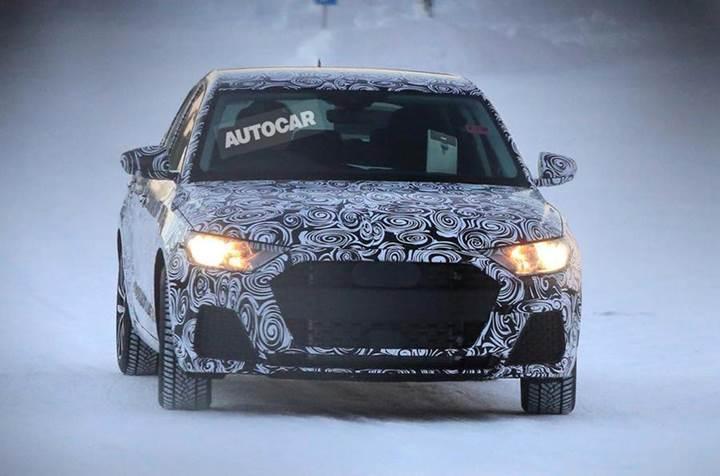 Yeni nesil Audi A1 kış testlerinde kamuflajlı olarak görüntülendi