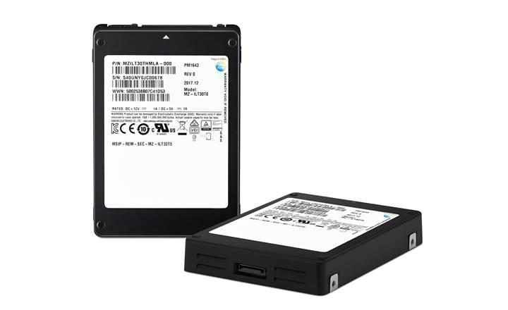Samsung 30 TB depolama alanına sahip dünyanın en büyük SSD'sini üretti