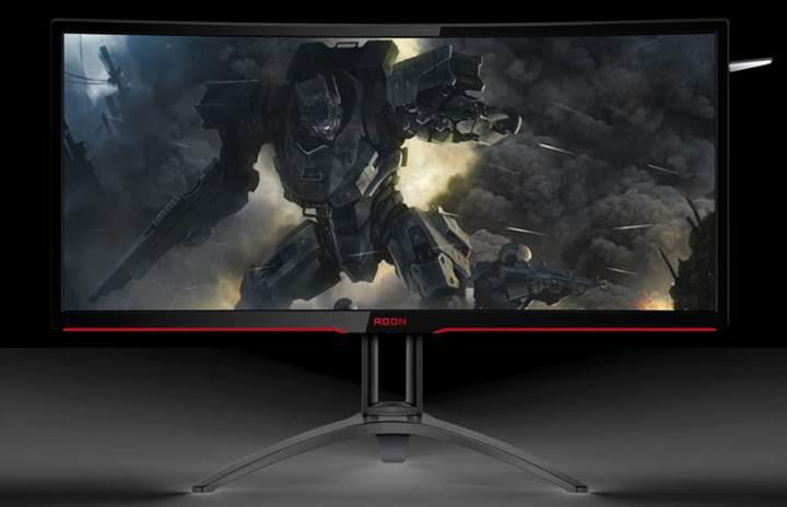 AOC yeni 35 inç kavisli oyun monitörünü duyurdu