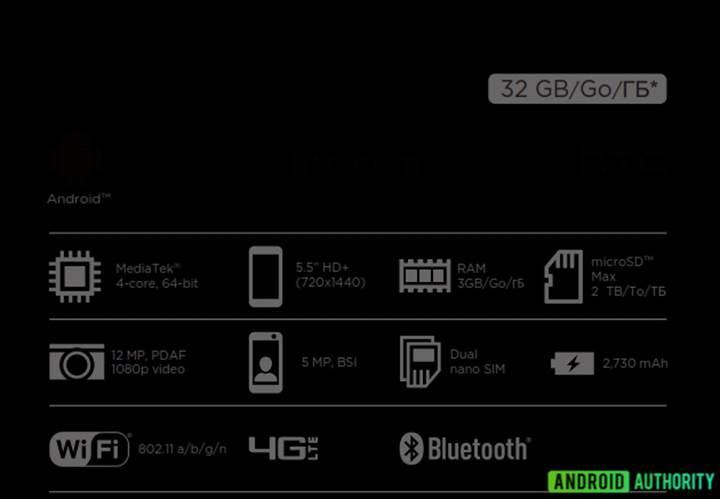 HTC Desire 12'nin ürün kutusu cihazın özelliklerini ortaya çıkardı