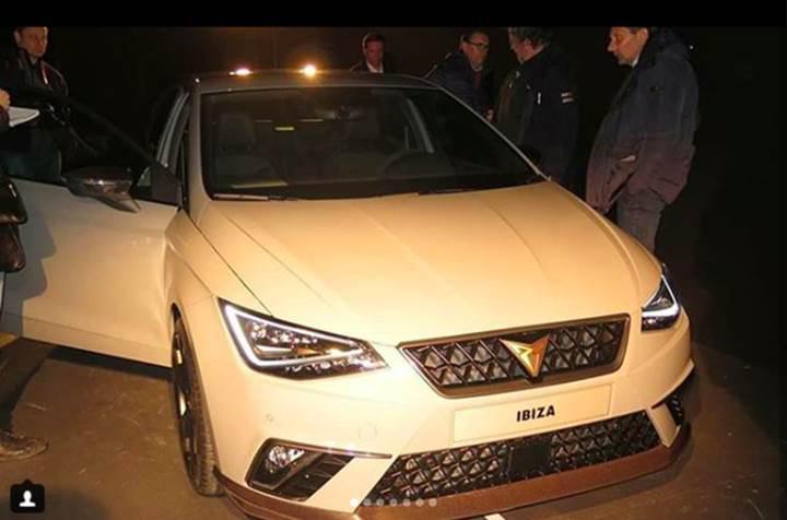 2019 Seat Ibiza Cupra yeni logosuyla ortaya çıktı
