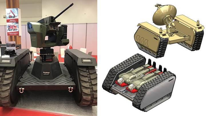 TSK'nın kullanacağı ilk insansız kara aracının görselleri ve özellikleri