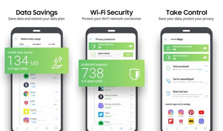 Samsung Max uygulaması veri tasarrufu yapmaya geliyor