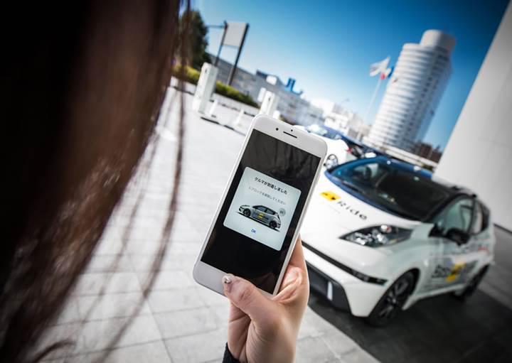 Nissan sürücüsüz taksi hizmetini başlatıyor