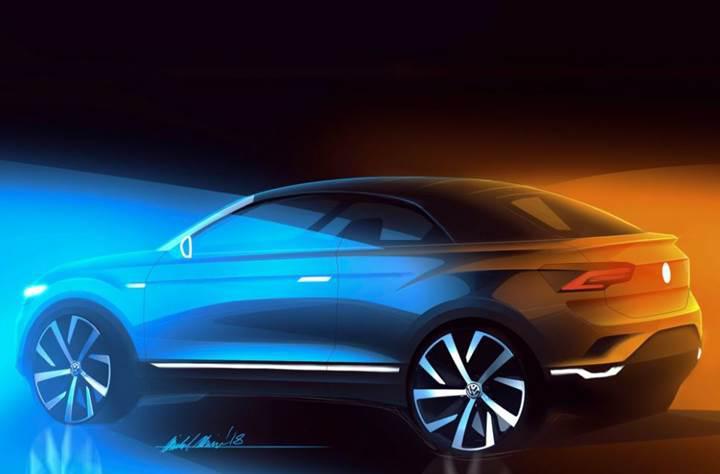 Volkswagen, T-Roc Crossover'ın cabrio versiyonunu üretecek
