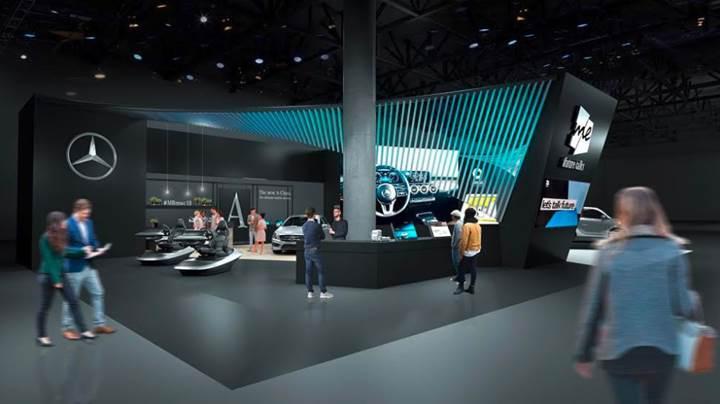 Mercedes, Mobil Dünya Kongresi'nde yapay zekalı multimedya sistemi MBUX'u sergileyecek