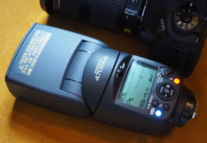 Canon, otomatik olarak kendi yönünü belirleyen akıllı flaş üretti