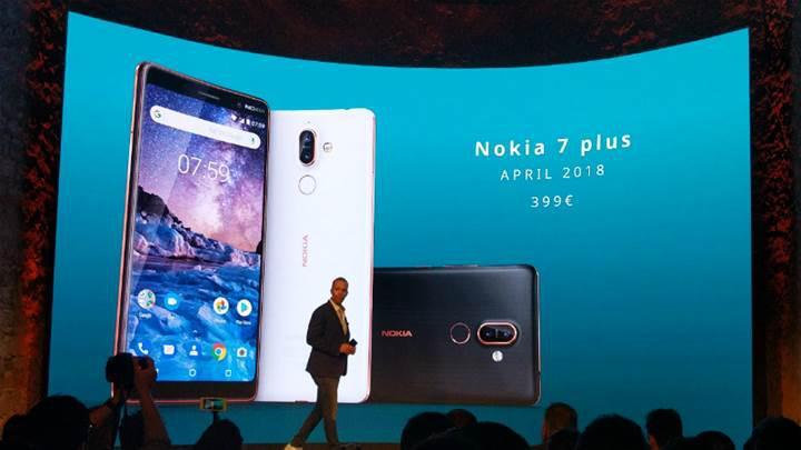 Nokia 7 Plus Tanıtıldı! Nokia 7 Plus özellikleri: