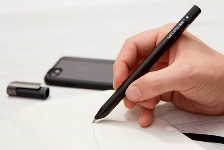 Moleskine'den yazdığınızı kaydedebilen kalem