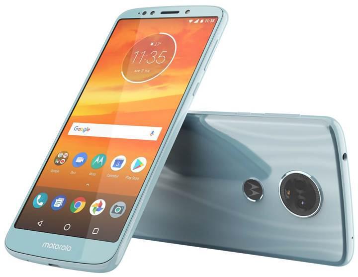İnce çerçeveli Motorola Moto E5 Plus'ın görüntüleri sızdı