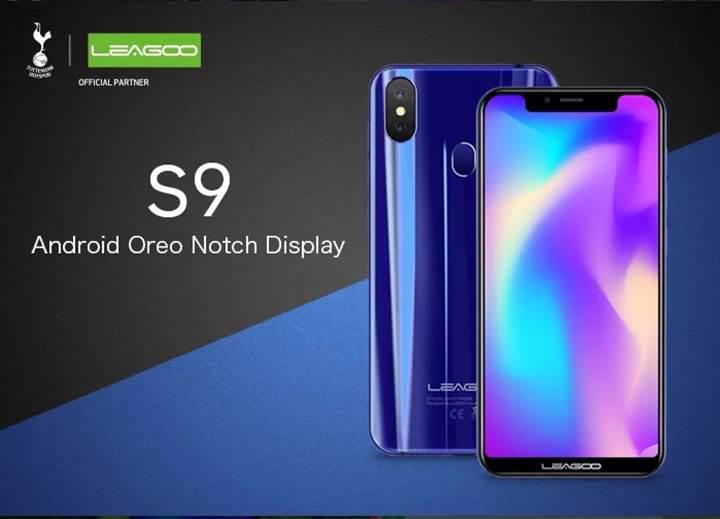 Çentikli tasarıma sahip Leagoo S9 tanıtıldı