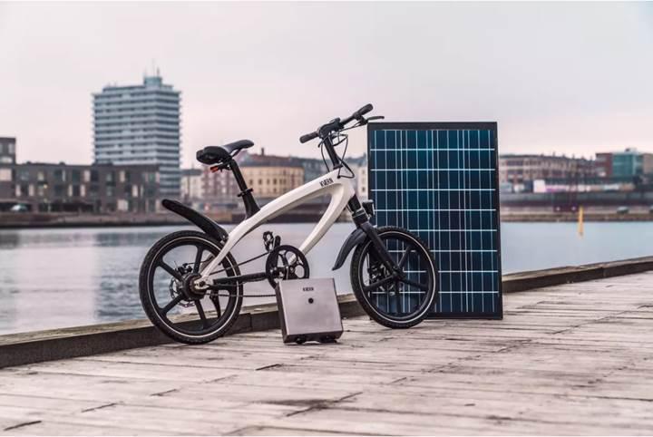 Kvaern elektrikli bisiklet, güneş enerjili şarj istasyonu ile geliyor