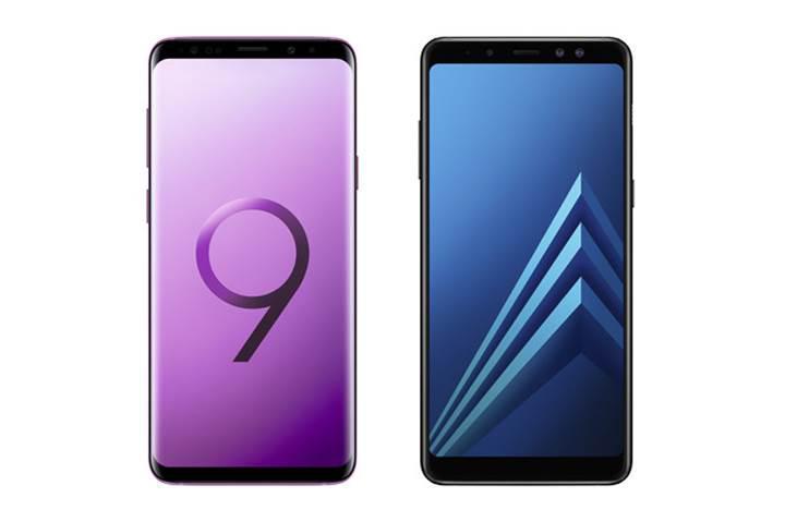 Samsung Galaxy S9 ve Galaxy A8 Enterprise Edition duyuruldu