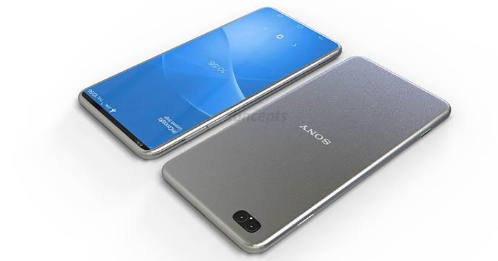 Sony'nin 4K ekranlı çerçevesiz akıllı telefonu yolda