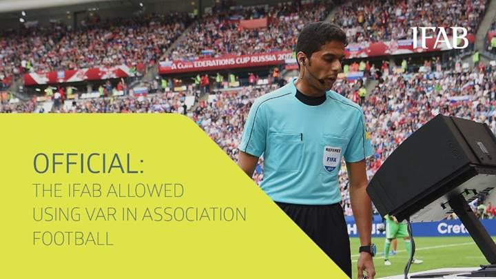 Karar verildi: 2018 Dünya Kupası'nda video yardımcı hakem kullanılacak