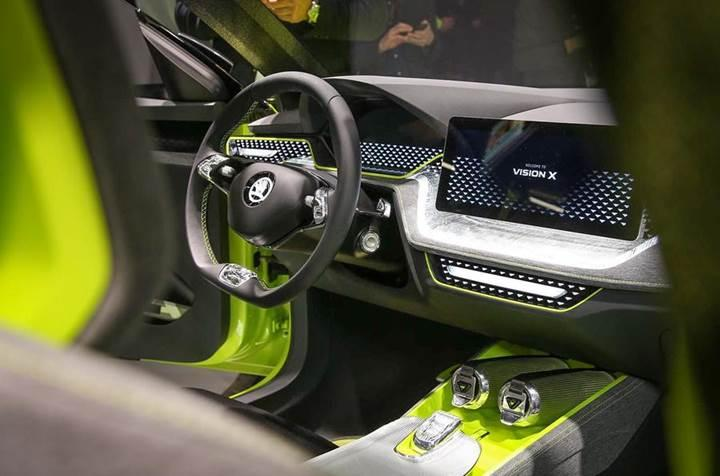 Skoda Vision X konsepti Cenevre'de tanıtıldı