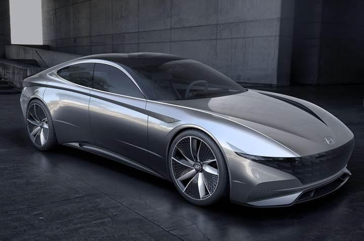Le Fil Rouge konsepti Hyundai'nin gelecekteki tasarım dilini gösteriyor